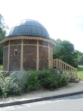 parc montsouris l ancienne cabane du grand equatorial de l observatoire du bureau