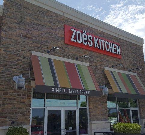 Zoes Kitchen Tulsa 10005 S Memorial Rd Menu Prices