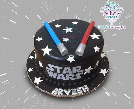 Star Wars Birthday Cake Picture Of Bakery Treatz Trinidad Tripadvisor