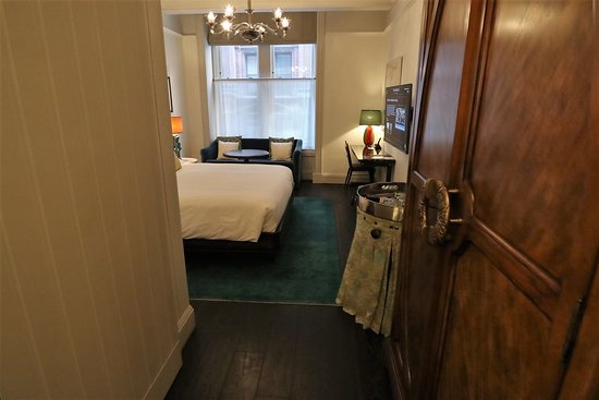 Room 304 Premium King 375 Square Feet 35 Square Meters Picture Of The Beekman A Thompson Hotel New York City Tripadvisor