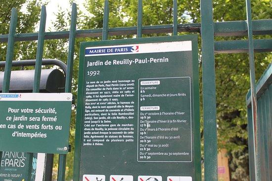 garden picture of jardin de reuilly