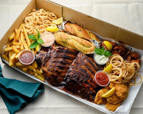 rack n roll ribs browns bay menu