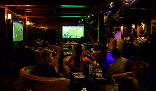customers indoors at - Sailors Lounge: Experience Comfort In Grand Style