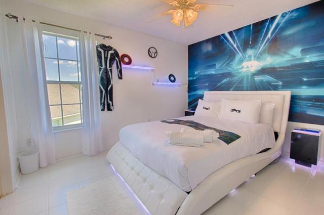 Magical Clubhouse Tron Bedroom