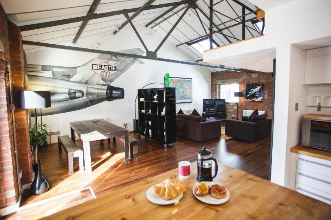 Brooklyn Style Loft Apartment At Paintworks With Free Parking