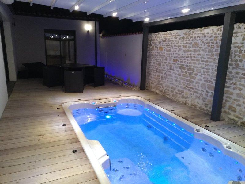 Location De Charme Avec Spa De Nage Et Sauna Privatif Updated 2021 Tripadvisor Saint Vivien Vacation Rental