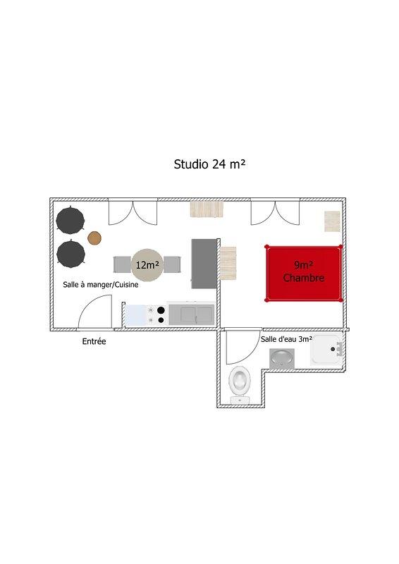 Murol Studio 24m2 Classe 3 Etoiles Pour 2 Personnes Updated 2021 Tripadvisor Murol Vacation Rental