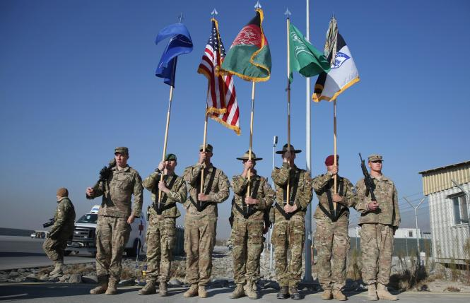 U.S., NATO Ceremonially End Afghan Combat Mission After 13 Years