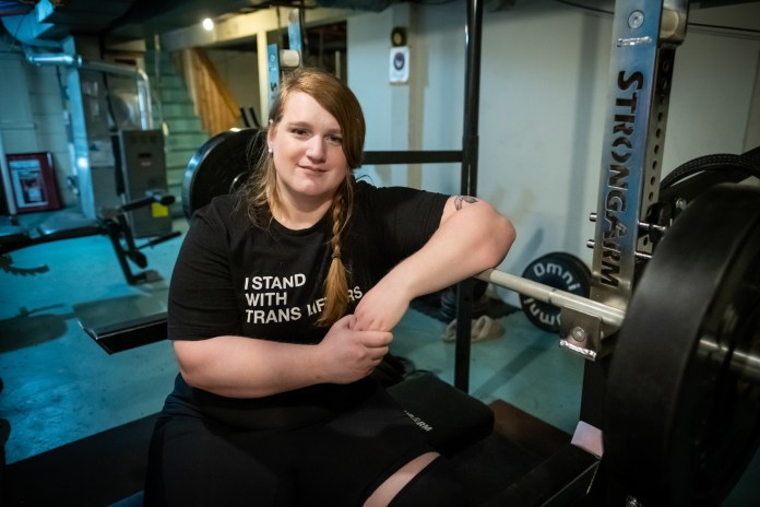 Stuck on the sidelines: A transgender powerlifter fights for the right to  compete