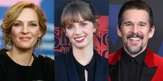Ethan Hawke and Uma Thurman praise daughter Maya after 'Stranger Things'  debut