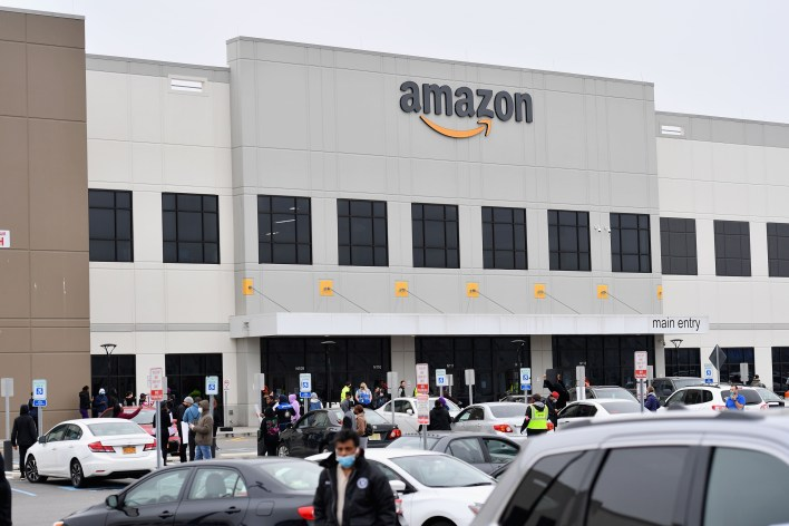amazon fires two employees critical of warehouse working conditions