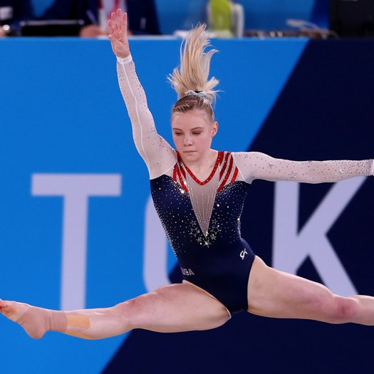 Team USA gymnast Jade Carey wins Olympic gold in floor exercise final 2