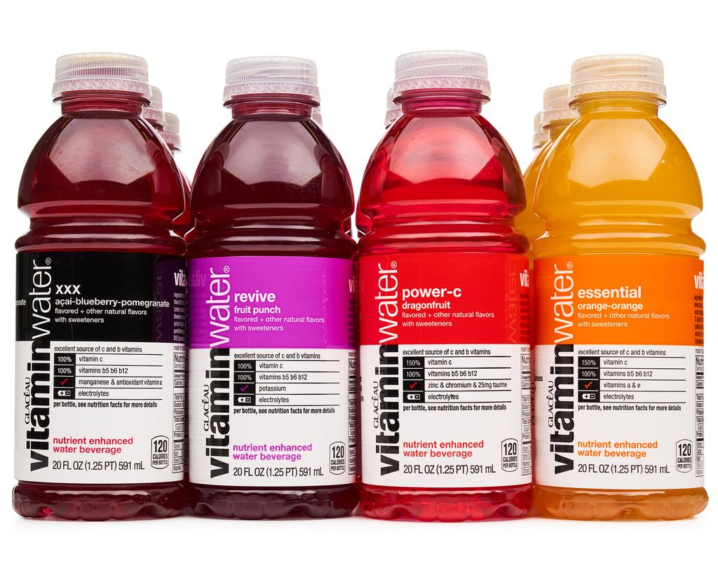 Courtesy of Vitaminwater.