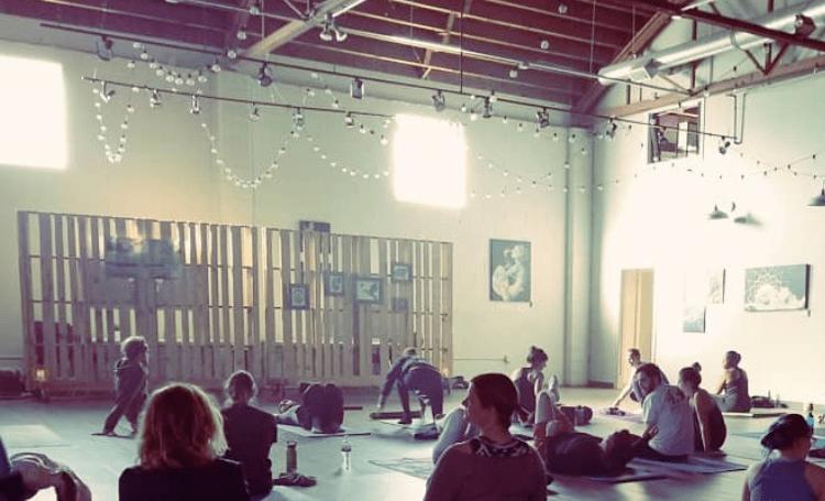 cannabis-friendly yoga classes in denver