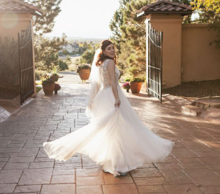 fall wedding dress styles