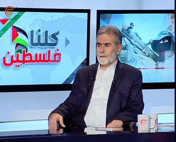 """Ziad al-Nakhala: """"Les digo a las familias de los mártires que estamos en el camino hacia  la victoria""""."""