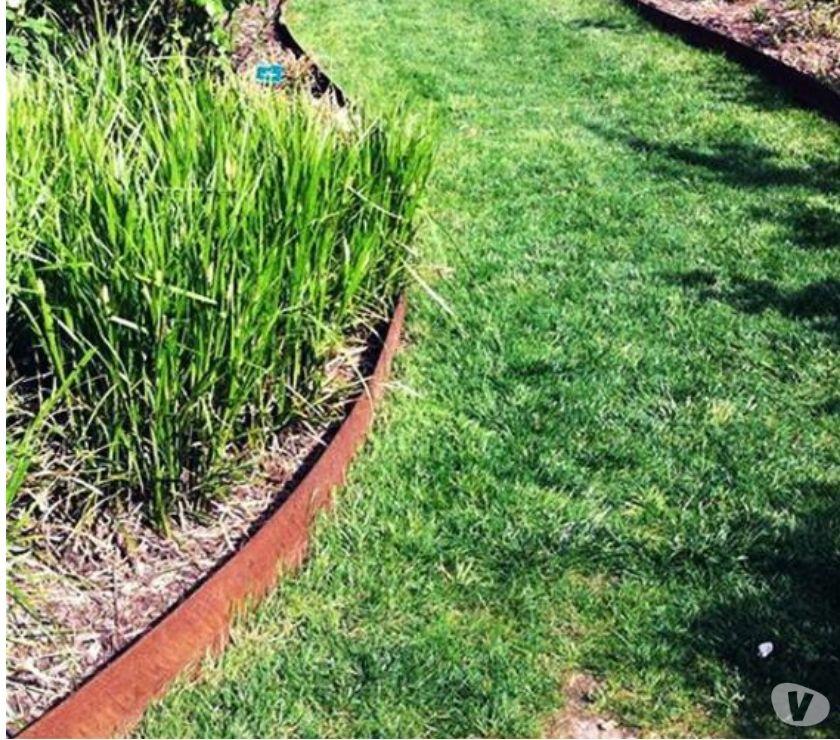bordures de jardin en acier corten