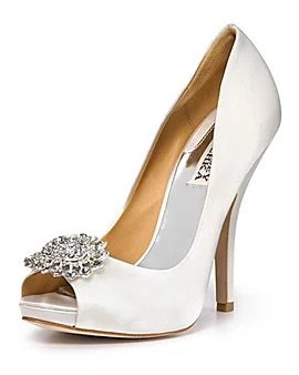 Badgley Mischka Lissa Evening Pumps, $245, bloomingdales.com