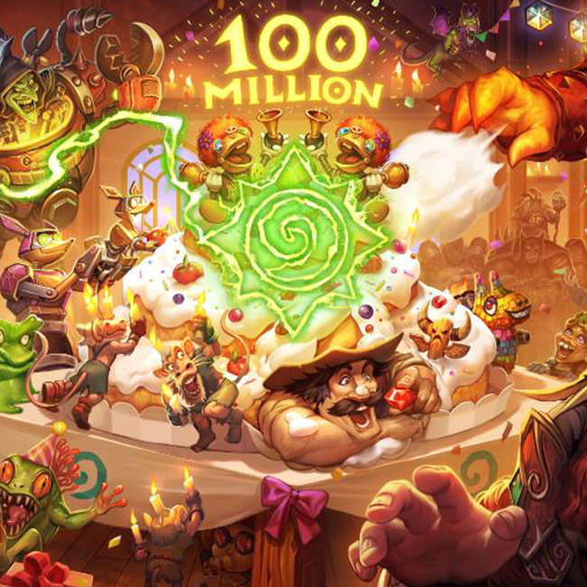 Hearthstones 100 Million Players Celebration Login For Free Packs And Gold Quests News