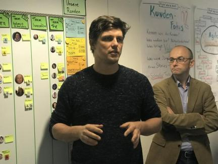 Wolfgang Jaschensky about the SZ Entwicklungsredaktion