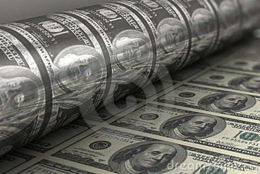 Mencetak Uang Dollar