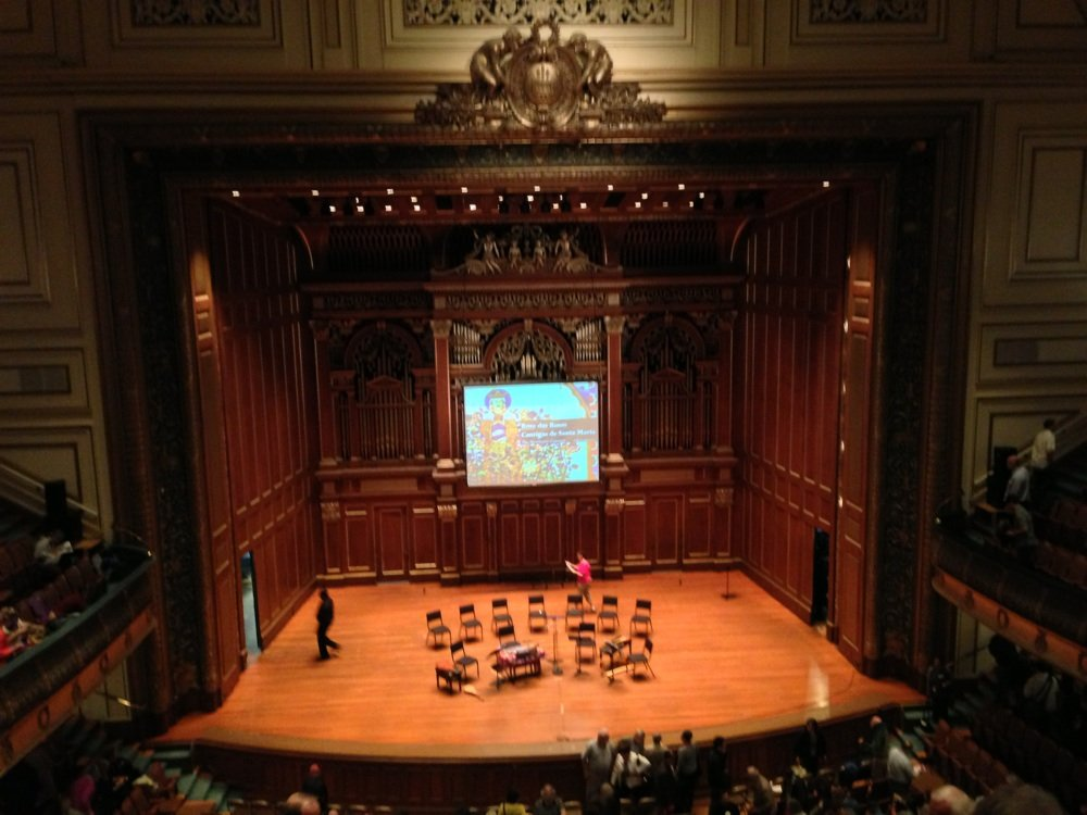 The Newberry Consort at The Boston Early Music Festival 2013