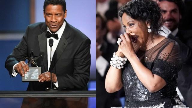 """Denzel Washington: """"A minha mulher é a maior realização da minha vida"""""""