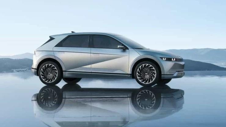 El Ioniq 5 es el nuevo Hyundai eléctrico. Ver las imagenes