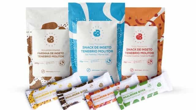 Continente is the first to sell products with insects.  Dare to try it!