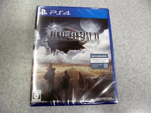 PS4 ファイナルファンタジー15