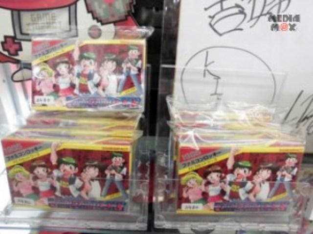 ファミコンロッキー原画展オリジナルステッカー+あさい先生サイン入り ファミコンカセット(オリジナル紙箱付き)