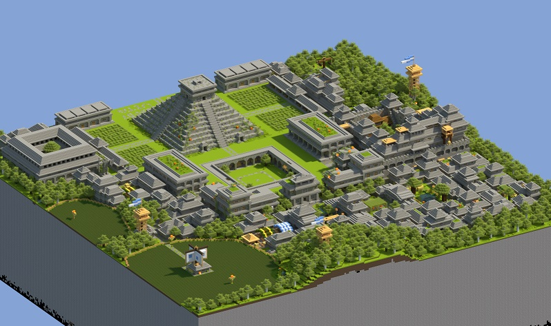 Maya MCPE Maps Minecraft Pocket Edition Minecraft