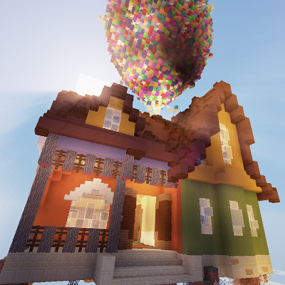 Hide And SeekMinecraft Map UP Pixar Maps Mapping