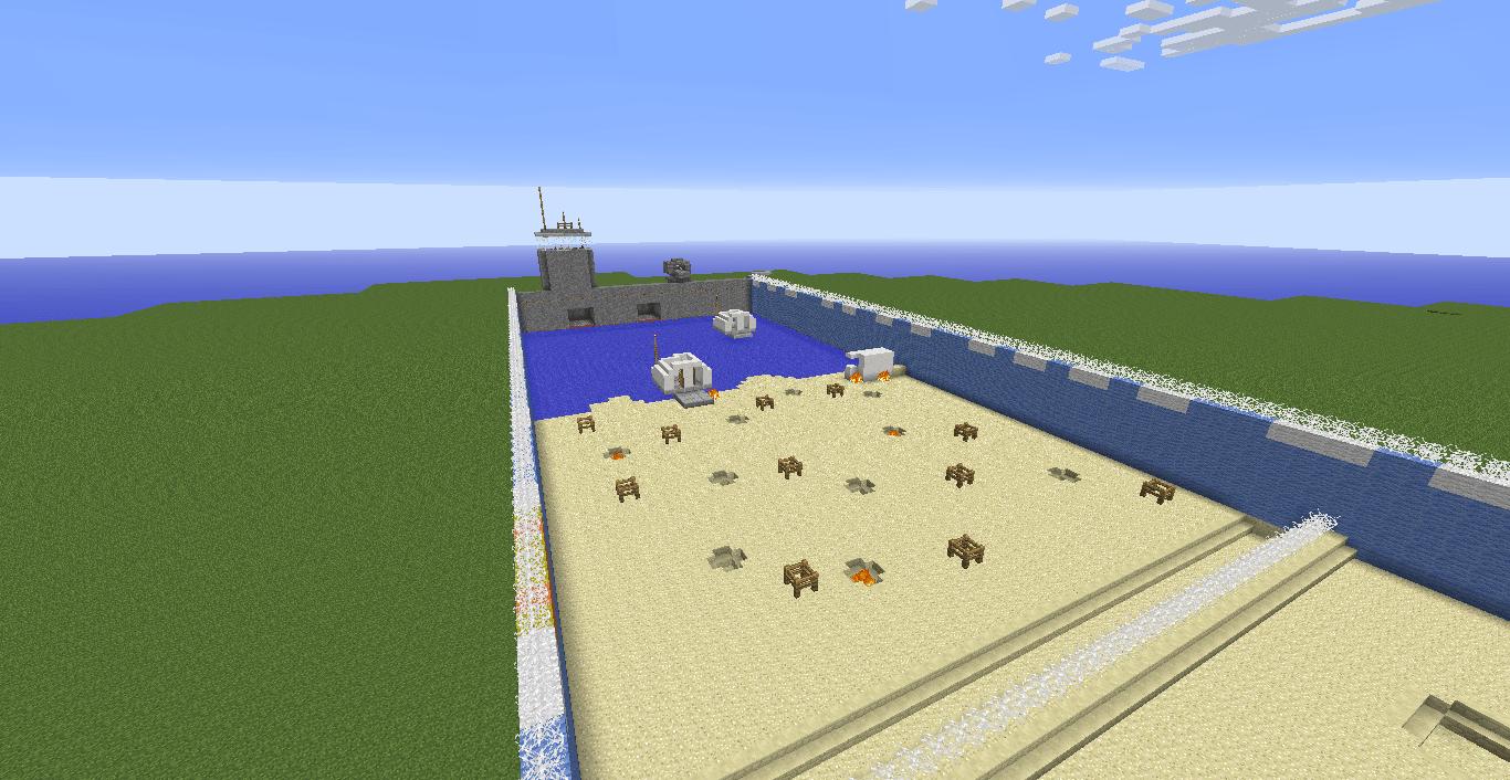 Minecraft Ww2 D Day Map