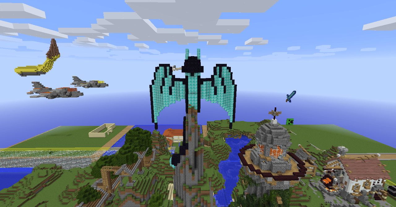 Obsidian Minecraft Creative