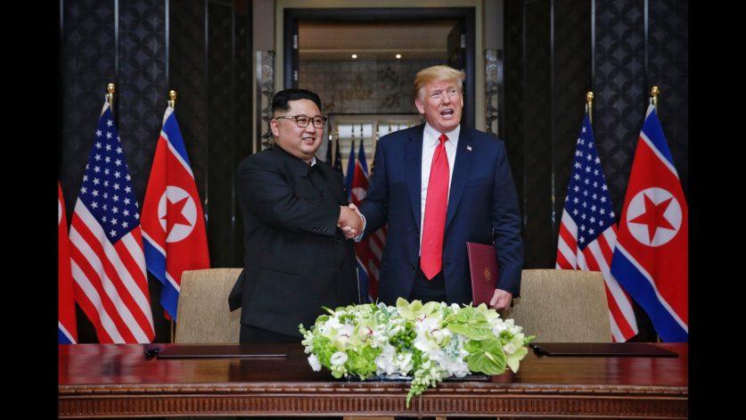 Hasil gambar untuk trump meet with jong un