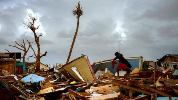 Stormquakes: What you get when you cross a hurricane with an earthquake
