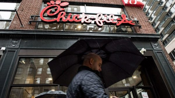 Chick-fil-A to close UK location amid protests by LGBTQ rights group
