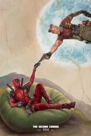 Deadpool 2 the second poster