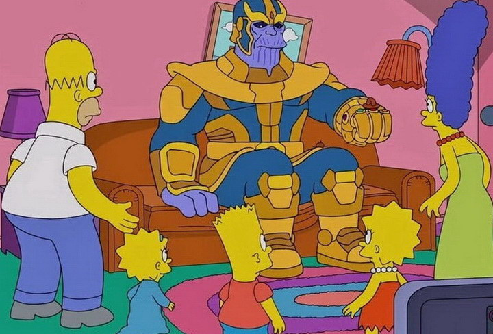thanos_and_the_simpsons