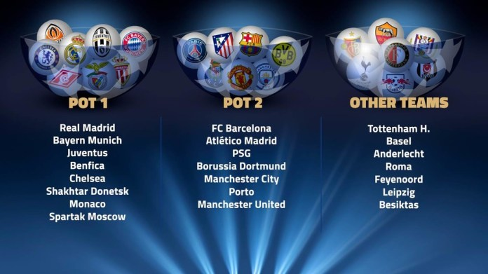 Image result for UEFA Champions League 2017-18