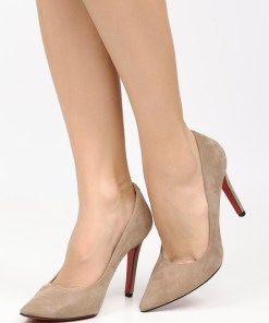 Pantofi stiletto Penza A Bej