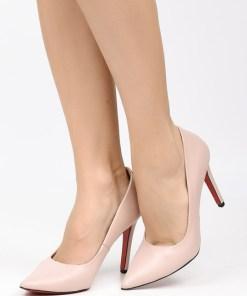 Pantofi stiletto Penza Roz