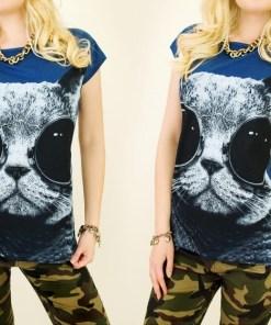 Tricou dama Wild Cat