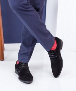 Pantofi barbati Monet negri eleganti