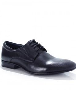 Pantofi barbati Piele Clasic negri