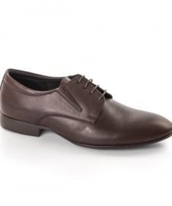 Pantofi barbati Piele Coder maro eleganti