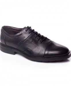 Pantofi barbati Piele Egede negri casual