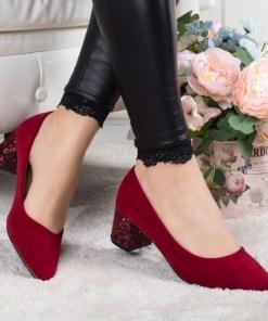 Pantofi Naija visinii cu toc