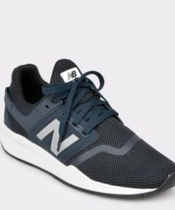Pantofi sport NEW BALANCE bleumarin, Ms247, din piele ecologica